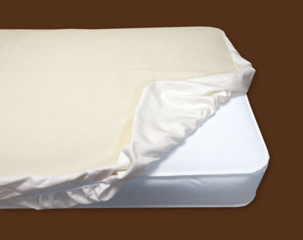 Organic Crib Fitted Mattress Protector Pad