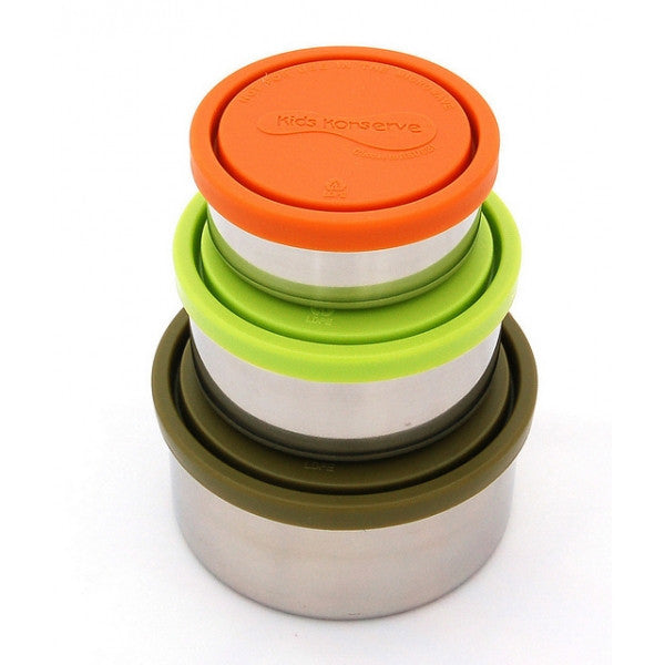 Round Nesting Trio Containers (Set of 3) Original