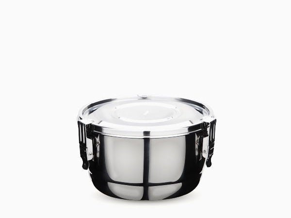 Stainless Steel Food Storage Container 10 cm