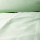 Organic Solid Colour Sateen Fitted Sheet (Deep Pocket) by Dream Designs