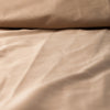Organic Solid Colour Sateen Fitted Sheet by Dream Designs
