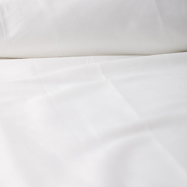 * Organic Solid Colour Sateen (Deep Pocket) Fitted Sheet by Dream Designs