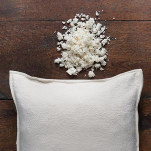 Pasha Organic Shredded Rubber Pillow by Sleeptek