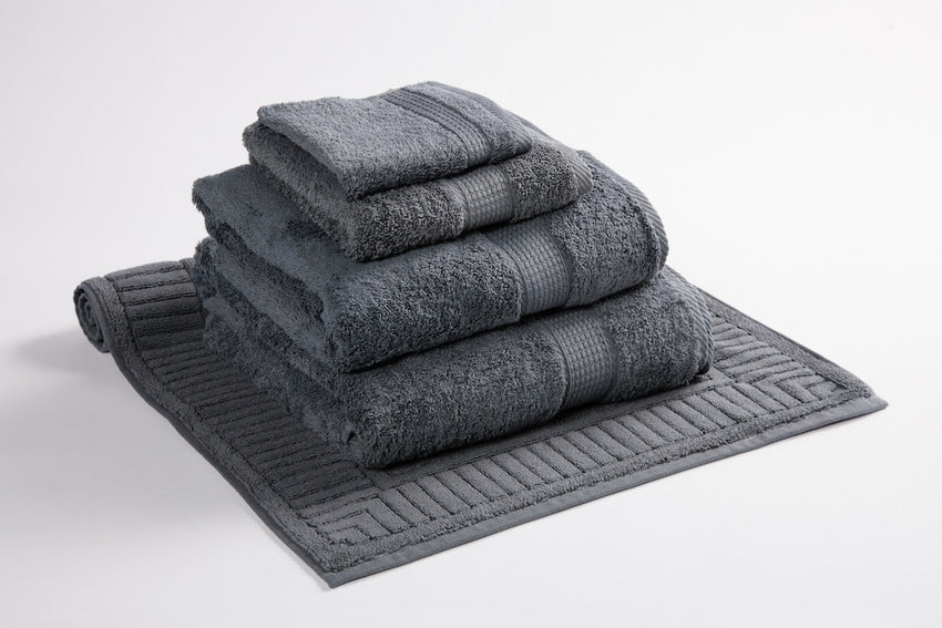 Organic Cotton Towels Slate