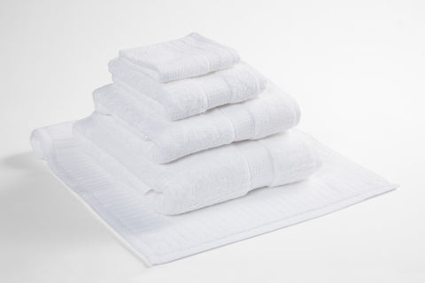 Organic Cotton Towels White
