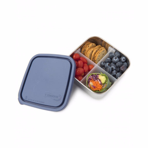 U-Konserve Divided To-Go Square Container (32oz)