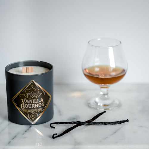 Natura Soy Wooden Wick Candle