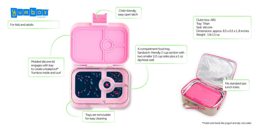 YumBox Panino 4 Compartments