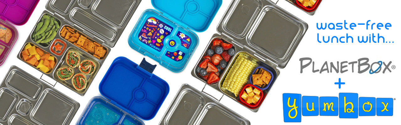 WASTE-FREE LUNCH WITH YUMBOX & PLANETBOX