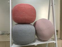 Load image into Gallery viewer, Crocheted Ottoman Pouf