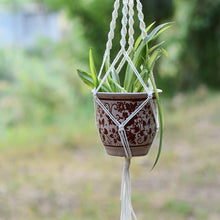 Load image into Gallery viewer, 100% Handmade Macrame Plant Hanger