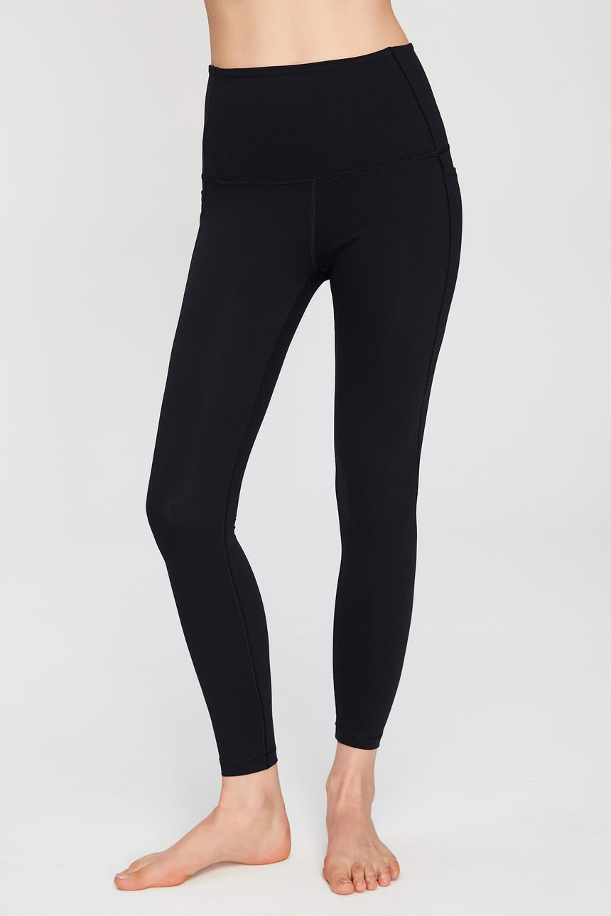 Ankle Length Full Coverage Workout Leggings - Zen Zen Studio NYC