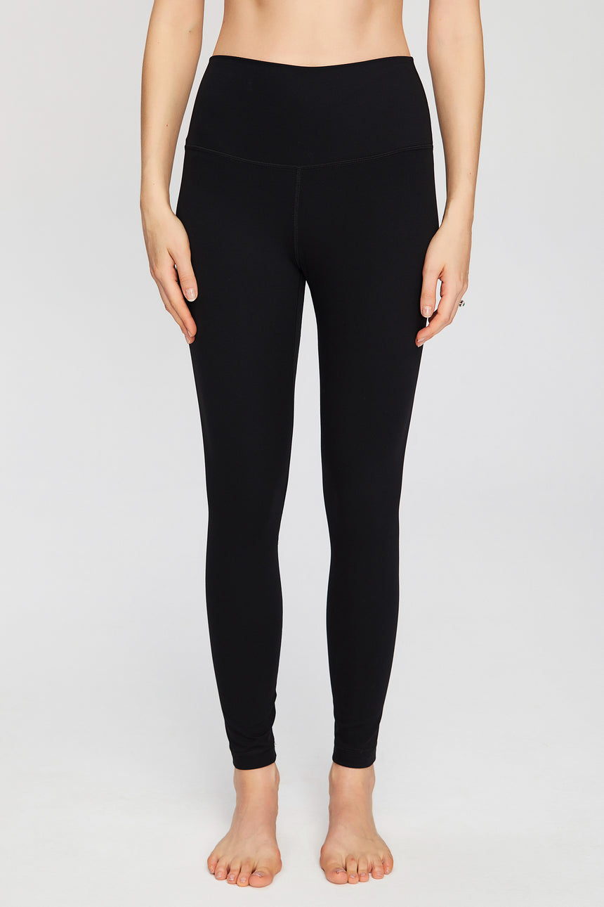 Women's Signature Workout Leggings in Black - Zen Zen Studio NYC