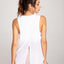 Breathable Workout Tank Top with Adjustable Back Tie - Zen Zen Studio NYC