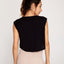 Cropped Black Athleisure Tank Top - Zen Zen Studio NYC