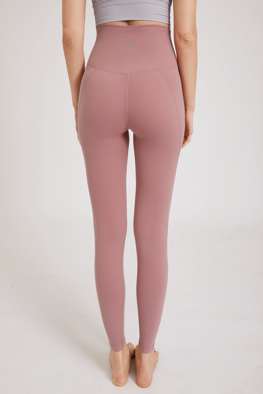 High Waisted Full Length Yoga Leggings - Zen Zen Studio NYC