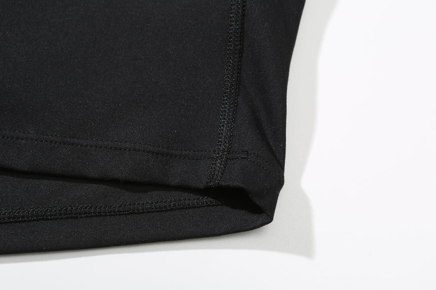Inhale Athleisure Long Sleeved Pullover In Black - Zen Zen Studio NYC