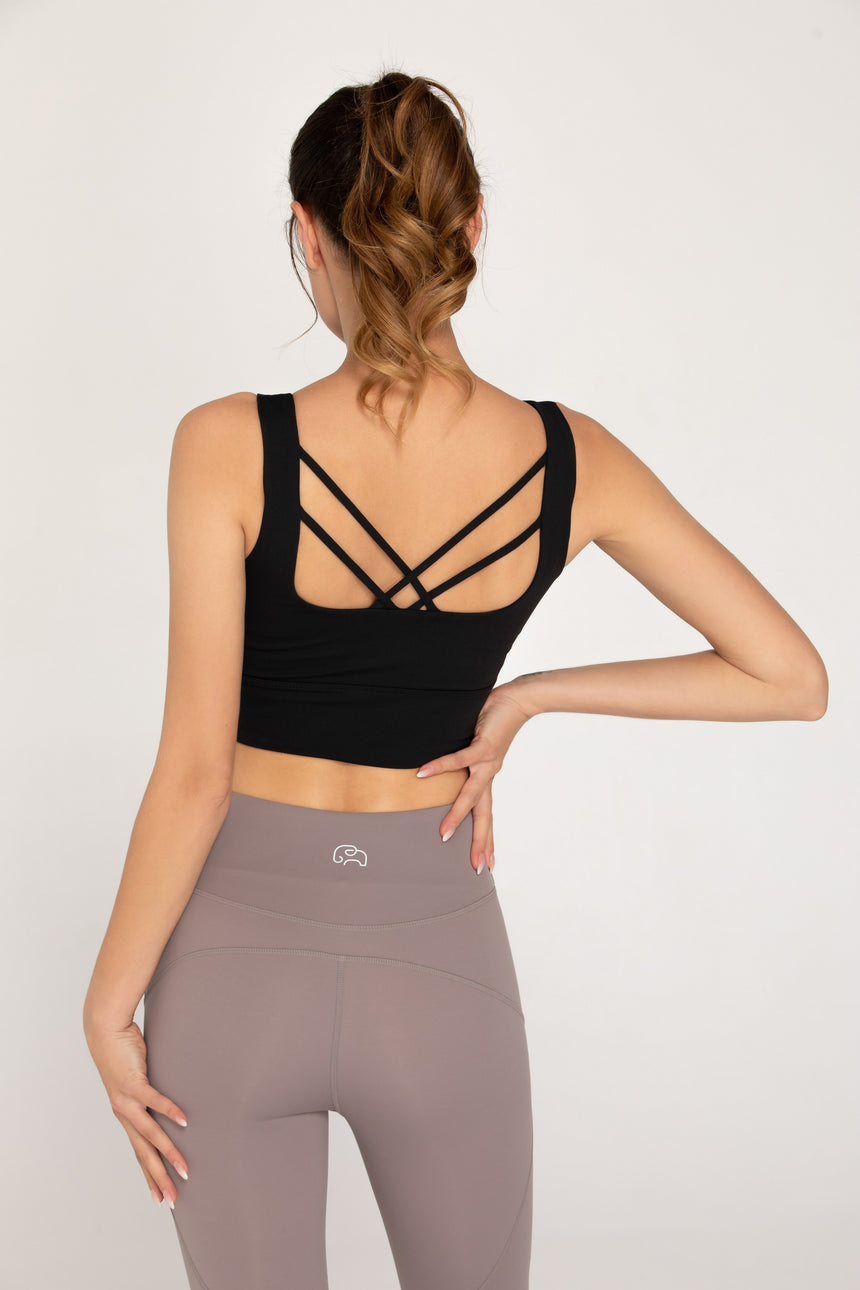 Essential Cropped Athleisure Tank Top - Zen Zen Studio NYC