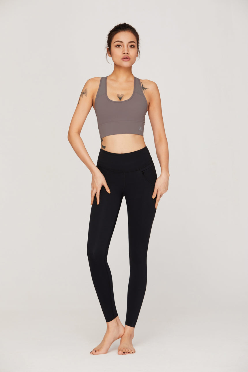 Prana Long Ankle-Length Athletic Workout Leggings - Zen Zen Studio NYC
