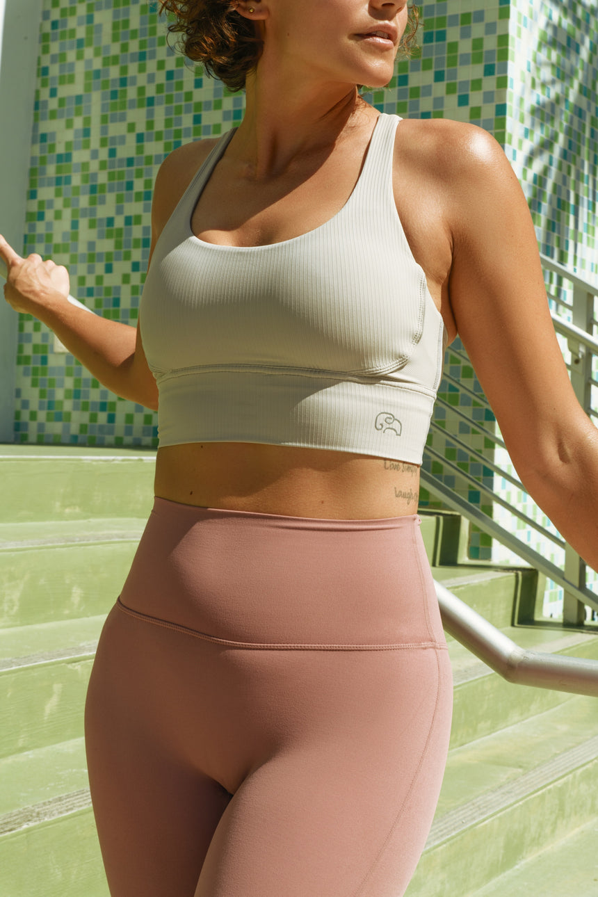 Longline Full Coverage Sports Bra - Zen Zen Studio NYC