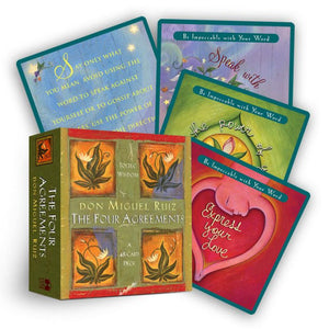 The Four Agreements: A 48-Card Inspirational Deck
