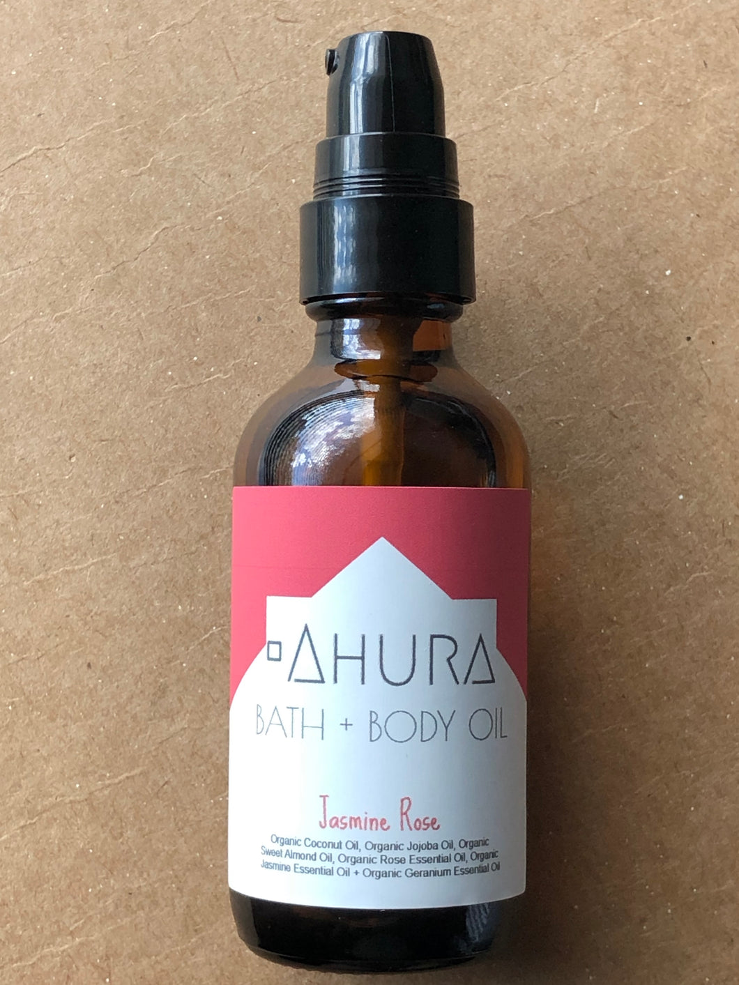 AHURA Organic Jasmine Rose Bath + Body Oil