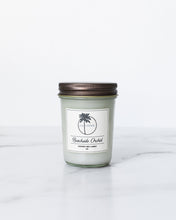 Load image into Gallery viewer, Beachside Orchid Scent Coconut Wax Candle