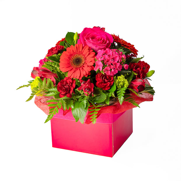 Raspberry Ripple Arrangement from Mayflower Studio Florist in Marlborough, NZ