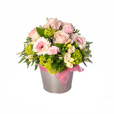 Pretty in Pink Arrangement from Mayflower Studio Florist in Marlborough, NZ