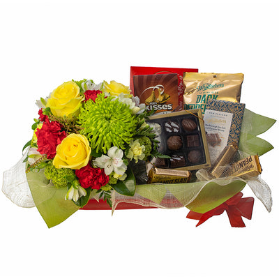 Chocolate Lovers Basket from Mayflower Studio Florist in Marlborough, NZ