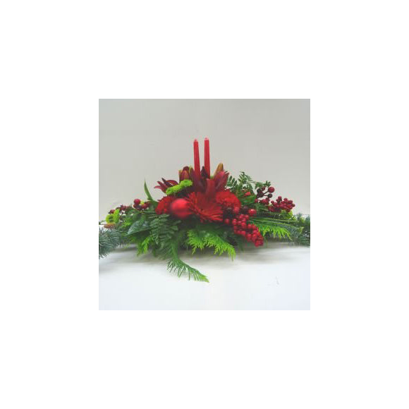 Christmas Arrangement from Mayflower Studio Florist, Marlborough, NZ
