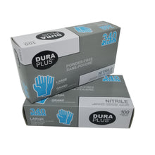 Load image into Gallery viewer, Dura Plus 340 Disposable Large Nitrile Gloves