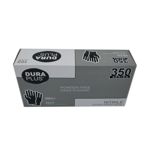Dura Plus 350 Disposable Small Nitrile Gloves
