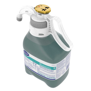 Diversey Smartdose Crew Restroom Floor & Surface Cleaner 1.4 L Top View turned on a 45 degree angle
