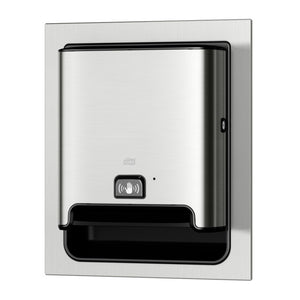 Tork 461123 Matic® Hand Towel Dispenser – In-wall Recessed with Intuition™ sensor (Special Order Item)