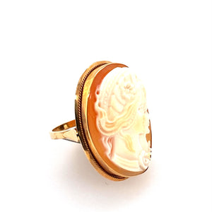 Estate - 14K Cameo Ring