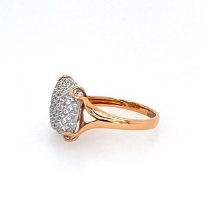 18KR Diamond Fashion Ring