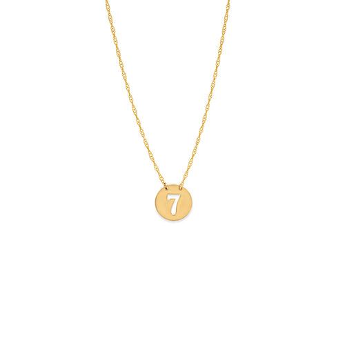 14 karat yellow gold cut-out