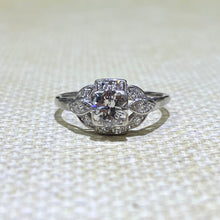 Load image into Gallery viewer, Estate - 14KW Vintage Diamond Engagement Ring