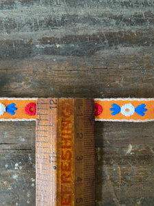 Vintage Circle Woven Decorative Trim