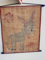 Load image into Gallery viewer, Mid Century Donkey Wall Hanging