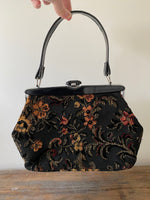 Load image into Gallery viewer, Vintage 1960's Carpet Bag