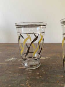 Set of 4 Fine Vintage Drinking Glasses