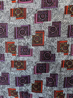 Load image into Gallery viewer, 2m Vintage Geometric Fabric