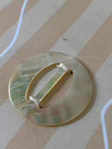 Small Vintage Mother of Pearl Buckle