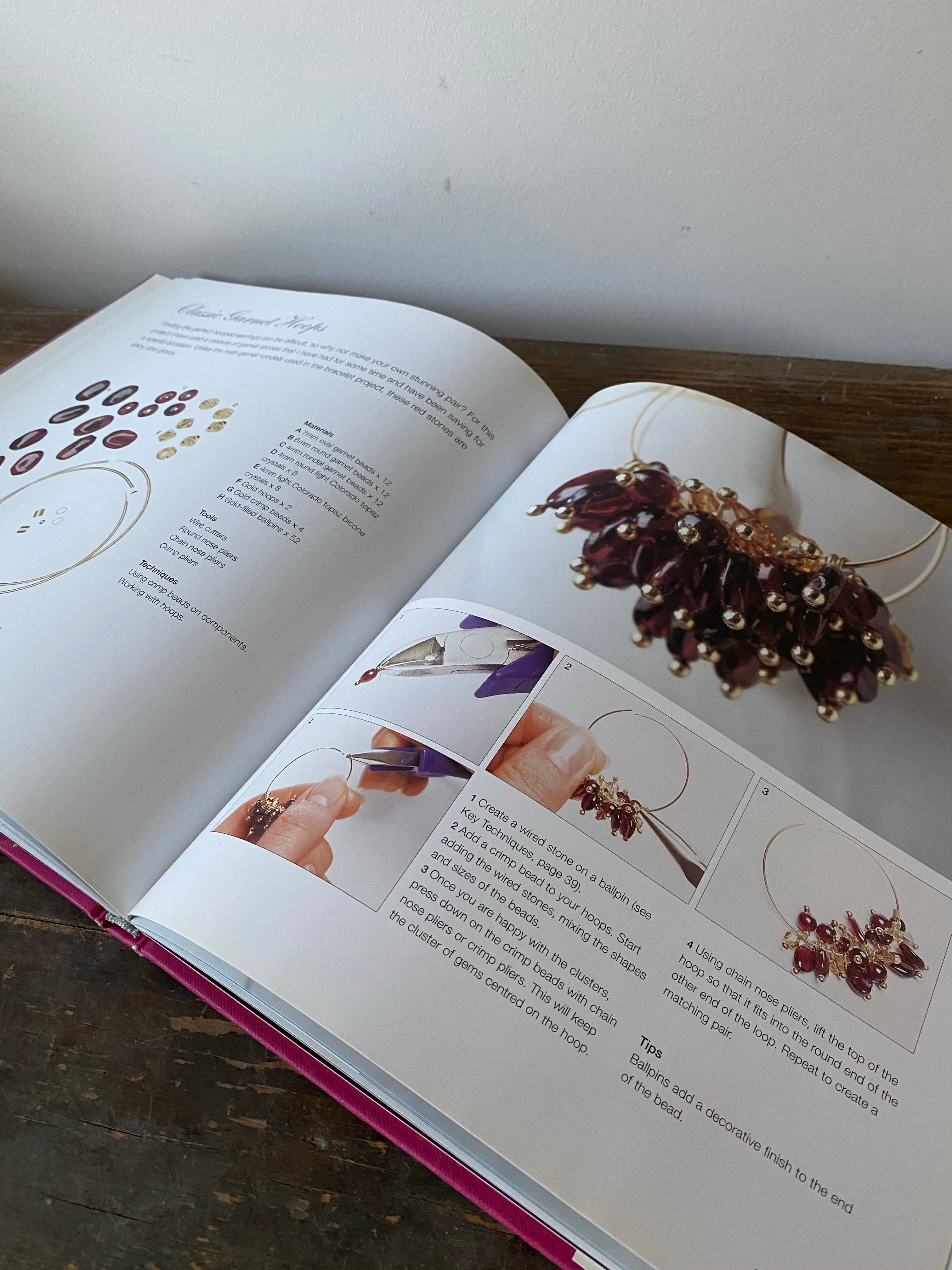 Bejewelled Book by Claire Aristides