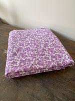 Load image into Gallery viewer, 3.6m Vintage Purple Floral Fabric