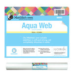 Water-soluble fabric stabiliser – Aqua Web & Aqua Web Plus