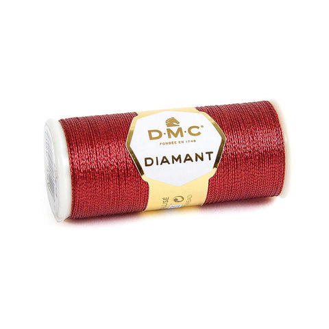 DMC Diamant metallic embroidery thread 35m