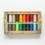 Gutermann rPET recycled polyester sew-all thread – box set of 20 spools